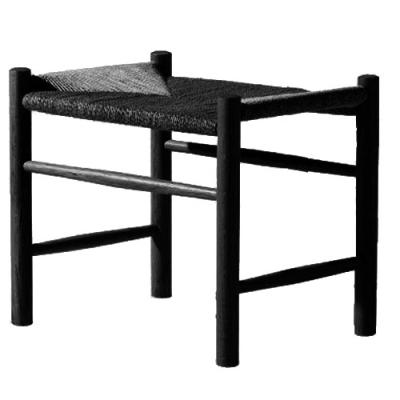 J16 fotpall, svart, svart sits